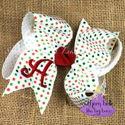 Southern Belle's Like Big Bows - Medium Christmas Dots