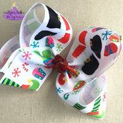 Southern Belle's Like Big Bows - Jumbo Santa/Elf Boots
