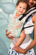 Tula Canvas Ergonomic Carrier - Dew Drop