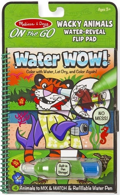 Melissa and Doug - Water WOW! Wacky Animals, ON the GO Travel Activity