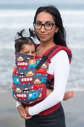 Tula Canvas Ergonomic Carrier - Look For Helpers