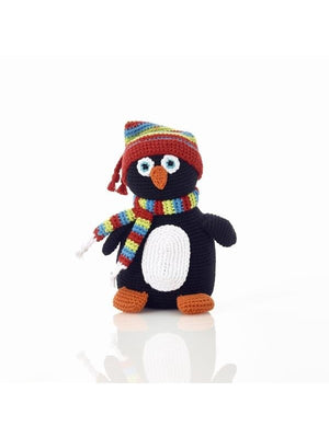 Pebble Rattle - Penguin