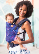 Tula Canvas Ergonomic Carrier - Lunabrite