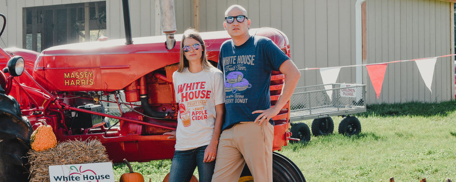 White House Fruit Farm T-Shirts