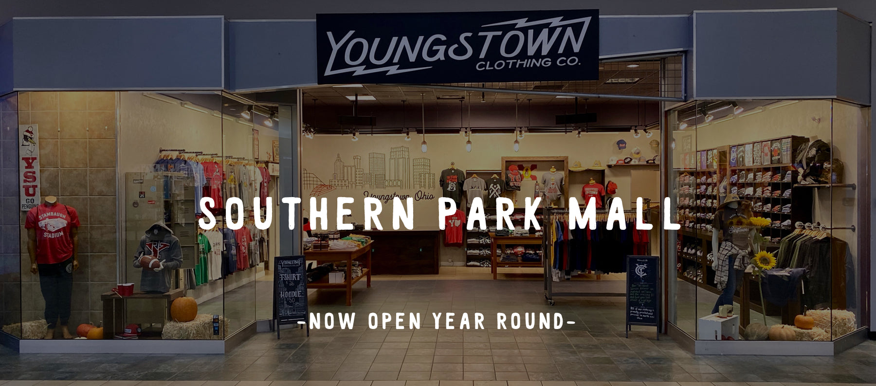 Youngstown Clothing Co Storefront
