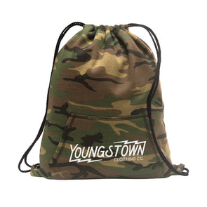 Camo Cinch Bag