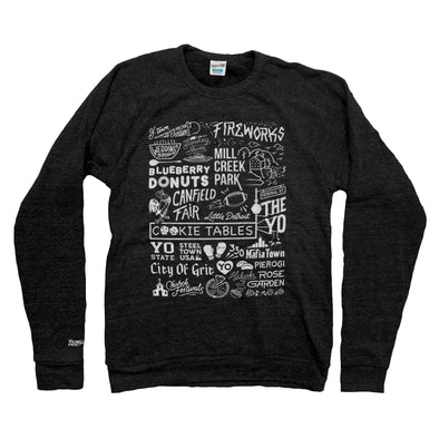 Ytown Collage Sweatshirt