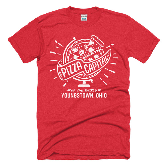 Youngstown Ohio, Pizza Capital of the World T-Shirt
