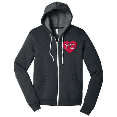 Heart the Yo Zip Hoodie
