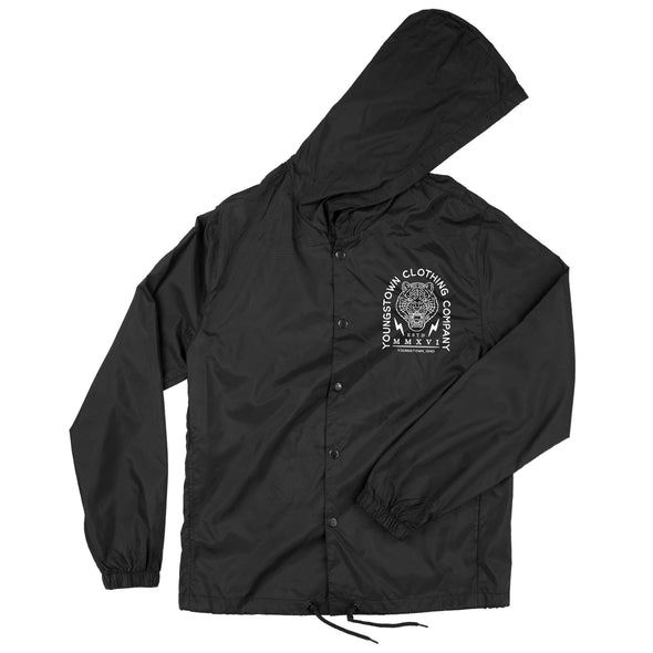 Hooded Coach's Logo Jacket
