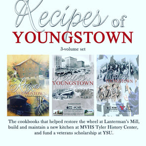 Recipes of Youngstown Cookbook Set (3 Total Books)