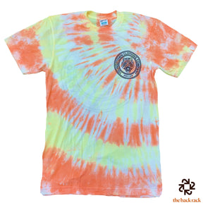 Tie Dye (Candy Corn) Badge Logo