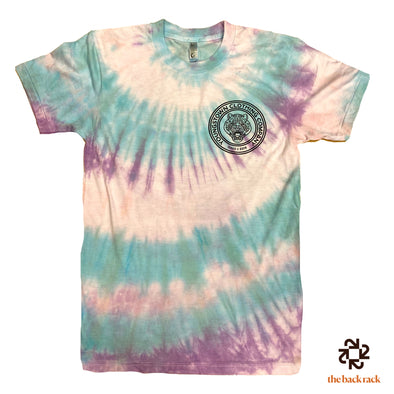 Tie Dye (Cotton Candy) Badge Logo