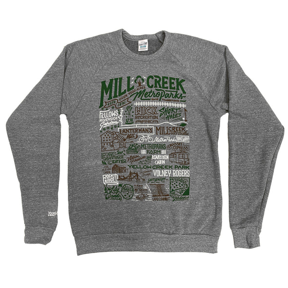 Mill Creek Park Collage Sweatshirt