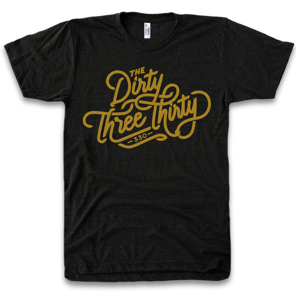 Dirty Three Thirty | Black & Gold