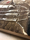 A Nightmare on Elm Street Wood Engraving