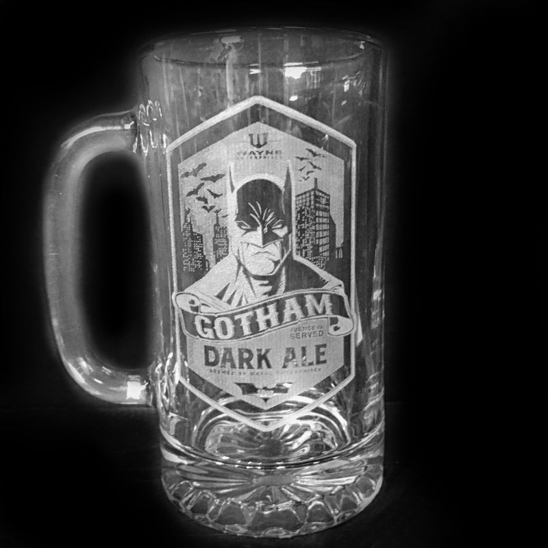 Batman Gotham Dark Ale Beer Mug