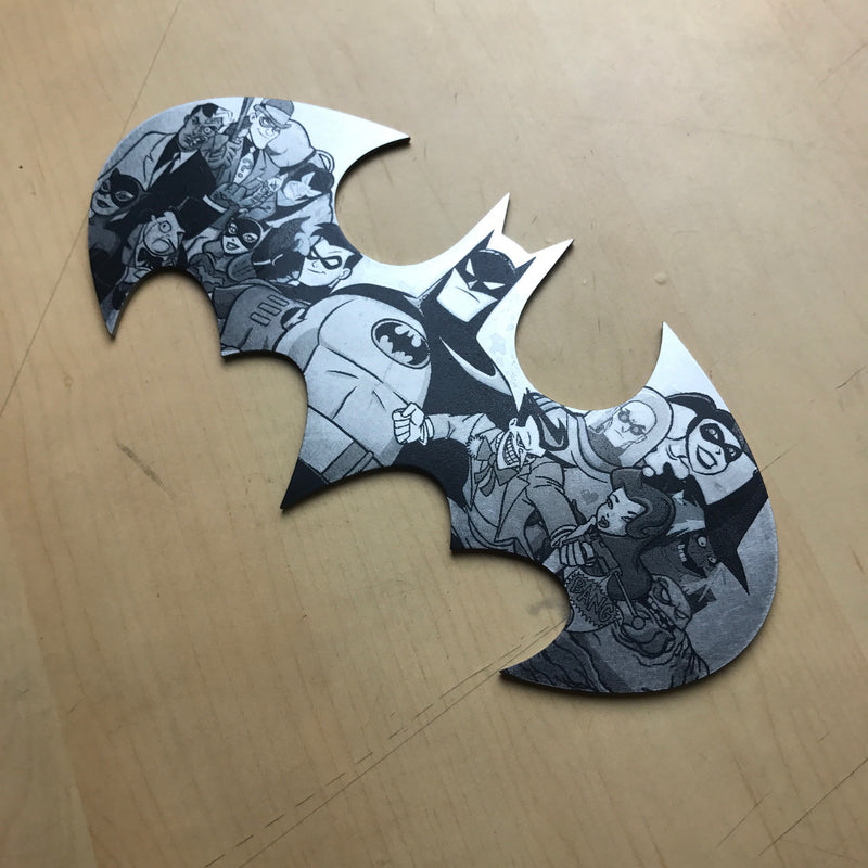 Batman BTAS Steel Batarang