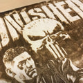 Punisher Wood Engraving