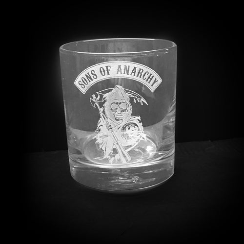 Sons of Anarchy Whisky Glass
