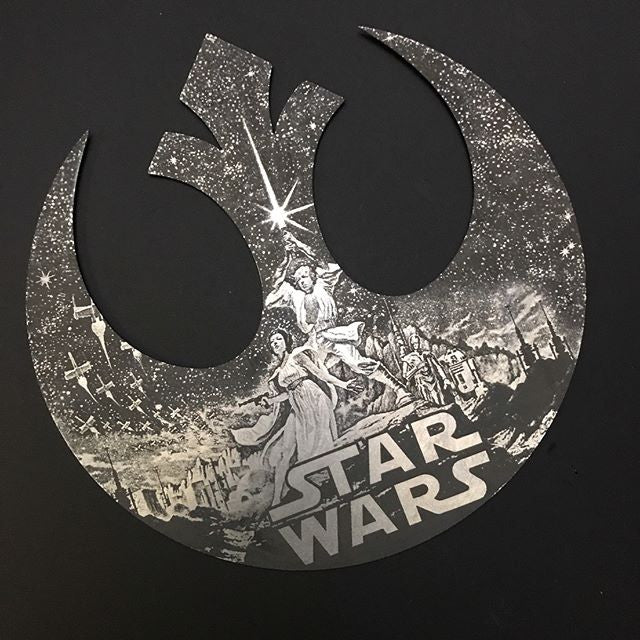Star Wars Rebel Alliance Metal Logo