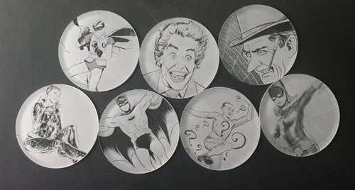 Batman: '66 Set of 7 Coasters