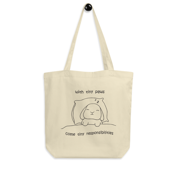 Tiny Paws Eco Tote Bag