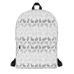 Libby bunny rabbit print backpack