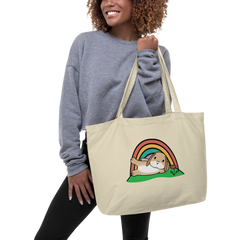 Taffy Large organic tote bag
