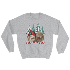 Snuggle Bunnies Ugly Christmas Sweatshirt (Unisex) -  Featuring Elliot & Pixelle