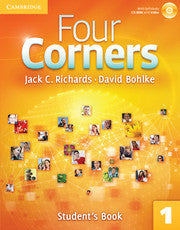 Four Corners Level 1 Student's Book with Self-study CD-ROM