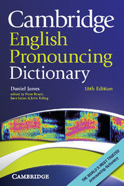 Cambridge English Pronouncing Dictionary 18th Edition