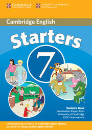 Cambridge Young Learners English Tests 7 Starters Student's Book