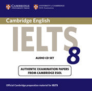 Cambridge IELTS 8 Audio CDs (2)