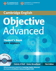 Objective Advanced Student's Book with Answers with CD-ROM 3rd Edition
