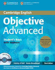 Objective Advanced Student's Book Pack (Student's Book with Answers with CD-ROM and Class Audio CDs (2)) 3rd Edition