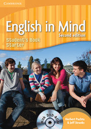 English in Mind Starter Level Student's Book with DVD-ROM 2nd Edition