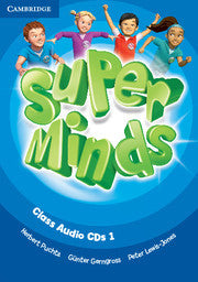 Super Minds Level 1 Class Audio CDs (3)