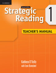 Strategic Reading Level 1 Teacher's Manual 2nd Edition