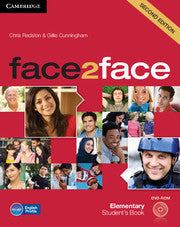 face2face Elementary Student's Book with DVD-ROM 2nd Edition
