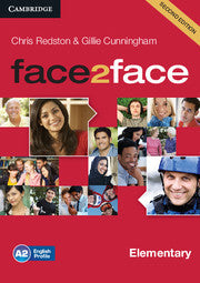 face2face Elementary Class Audio CDs (3) 2nd Edition