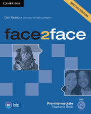 face2face Pre-intermediate Teacher's Book with DVD 2nd Edition