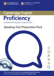 Speaking Test Preparation Pack for CPE Paperback with DVD