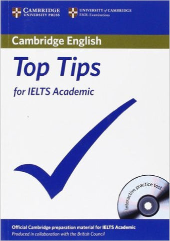 Top Tips for IELTS Academic Paperback with CD-ROM