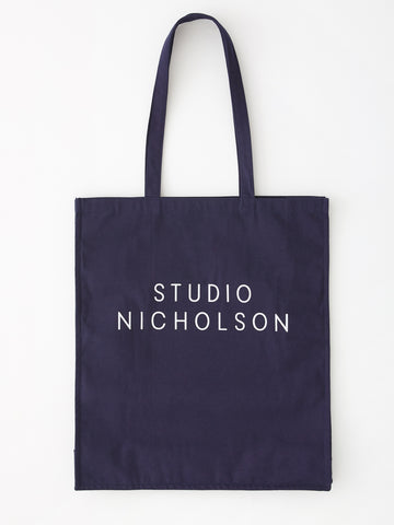 Studio Nicholson Standard Tote Bag in Dark Navy
