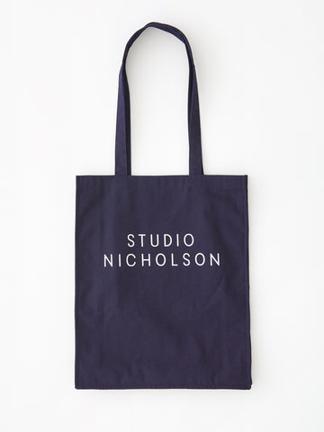 Studio Nicholson Small Tote Bag in Dark Navy