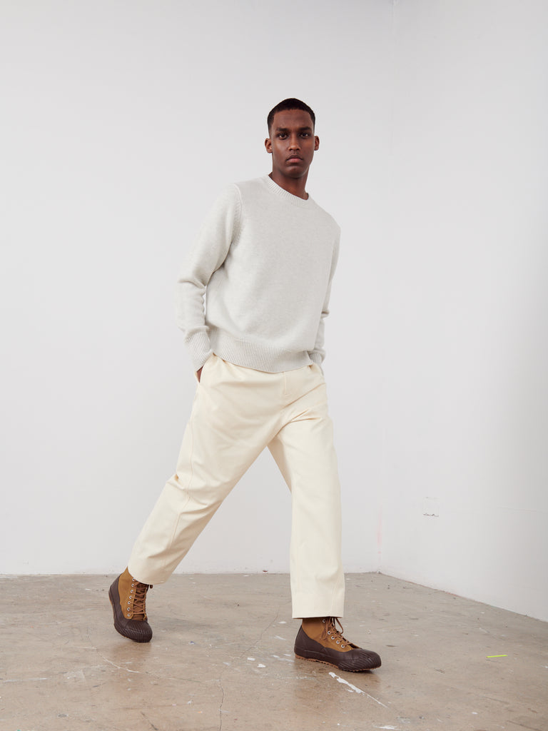 Adagio Pant In Cream - Studio Nicholson