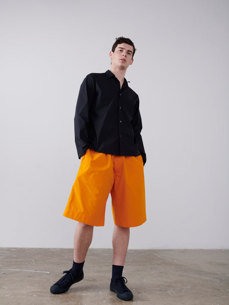 Facile Shorts In Saffron - Studio Nicholson