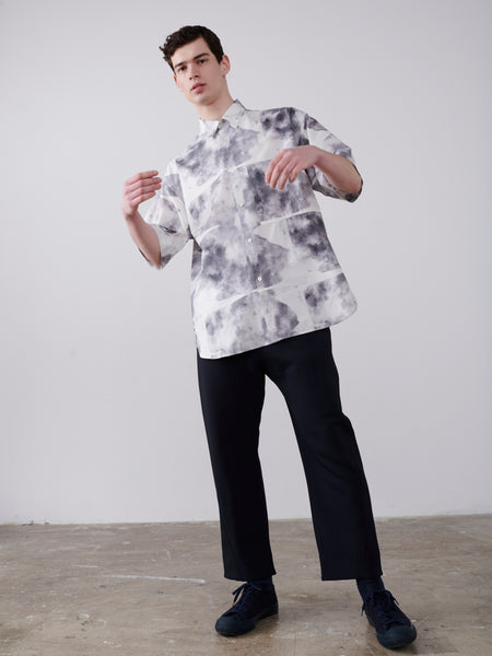 Sorono Shirt In High Fidelity Print - Studio Nicholson