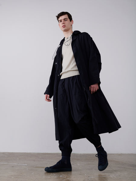 Alto Coat In Dark Navy - Studio Nicholson